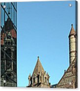 Boston Unity Reflected 2853 Acrylic Print