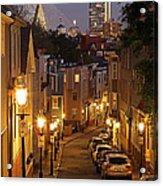 Boston View From Charlestown Acrylic Print