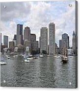 Boston Waterfront Acrylic Print