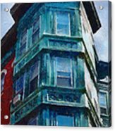 Boston's North End Acrylic Print