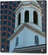 Boston's North Meeting House Acrylic Print