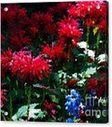 Botanic Garden Abstract Acrylic Print