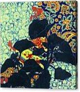 Botanical Klimt Acrylic Print