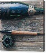 Bottle And Rod I Acrylic Print