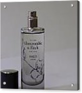 Bottle Of Abercrombie Fitch Perfume Acrylic Print
