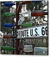 Bottle Trees Route 66 Acrylic Print