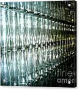 Bottle Wall Acrylic Print