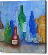 Bottles Collection Acrylic Print