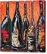 Bottle's Enjoyed Acrylic Print