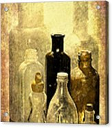 Bottles From The Past Acrylic Print