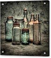 Bottles II Acrylic Print