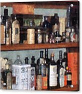 Bottles In General Store Acrylic Print