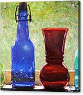 Da142 Bottles Of Time Daniel Adams Acrylic Print
