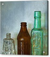 Bottles Acrylic Print