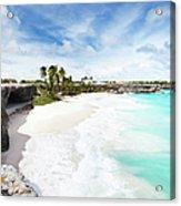 Bottom Bay, Barbados Acrylic Print
