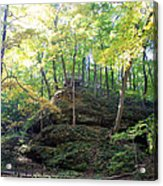 Bottom Of Devil's Punchbowl Wildcat Den Acrylic Print