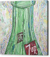 Bottoms Up Acrylic Print by Gabe Arroyo