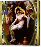 Bougereau Vintage Jesus Acrylic Print