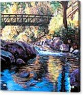 Boulder Creek Bridge Acrylic Print