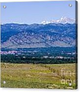 Boulder In The Summertime Acrylic Print