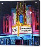 Boulder Theater Acrylic Print