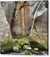 Boulders By The River 2 Acrylic Print