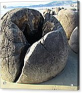 Boulders Acrylic Print by Joyce Woodhouse