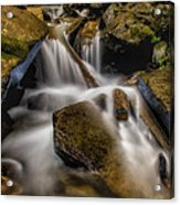 Bouncing Off The Rocks Hdr Acrylic Print