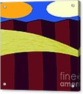 Bouncy Sunshine Acrylic Print by Patrick J Murphy