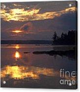 Boundary Waters Sunrise Acrylic Print