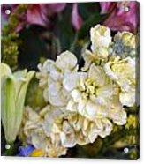 Bouquet Flower Acrylic Print