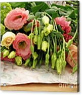 Bouquet In The Making Acrylic Print by Lainie Wrightson