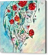 Bouquet Of Love Acrylic Print