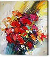 Bouquet Of Poppies Acrylic Print