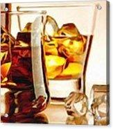 Bourbon - Large Size Painting Acrylic Print