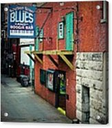 Bourbon Street Blues Acrylic Print