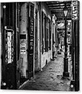Bourbon Street Diva Acrylic Print