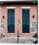 Bourbon Street Doors Acrylic Print