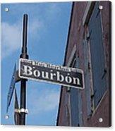 Bourbon Street Acrylic Print