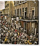 Bourbon Street Party Acrylic Print