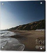 Bournemouth Beach Huts Acrylic Print