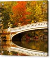Bow Bridge Beauty Acrylic Print