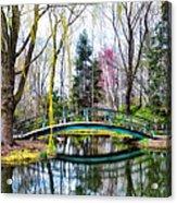 Bow Bridge - Grounds For Schulpture Acrylic Print