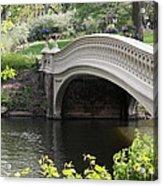 Bow Bridge Iv Acrylic Print