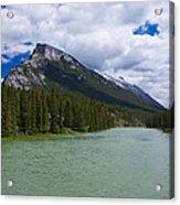 Bow River - Banff Acrylic Print