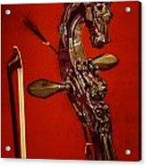 Bowed Lute Acrylic Print
