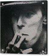 Bowie In Berlin 14/16 Acrylic Print