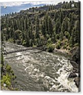 Bowl And Pitcher Area - Riverside State Park - Spokane Washington Acrylic Print