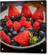 Bowl Of Fruit 1 Acrylic Print