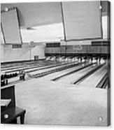 Bowling Alley Interior Acrylic Print